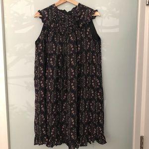 Silk Anna Sui dress
